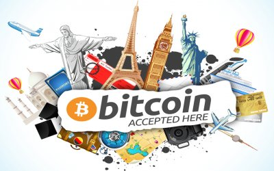 Travel with Bitcoin & Other Crypto's With These 10 Websites