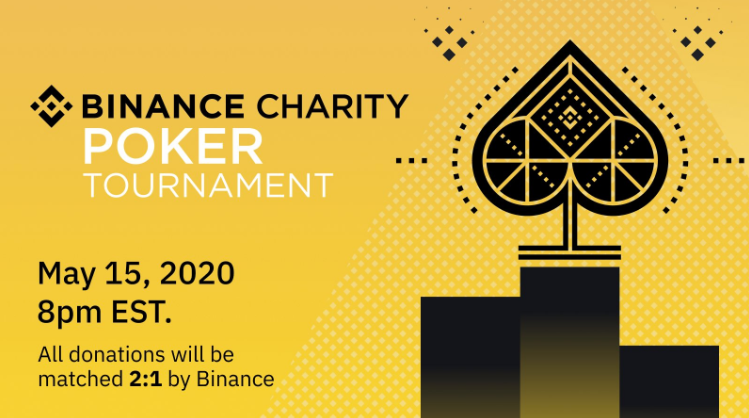 binance charity poker
